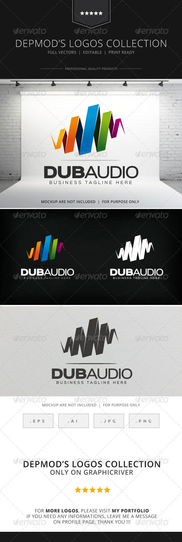 GraphicRiver Dub Audio Logo 8531959