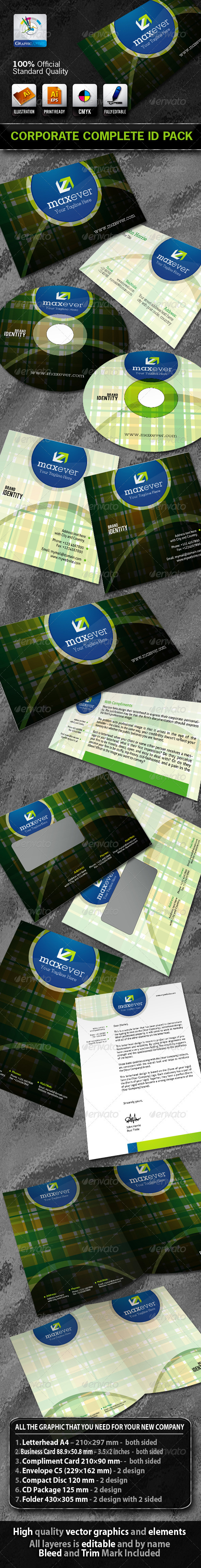 MaxEver Business Corporate ID Pack With Logo