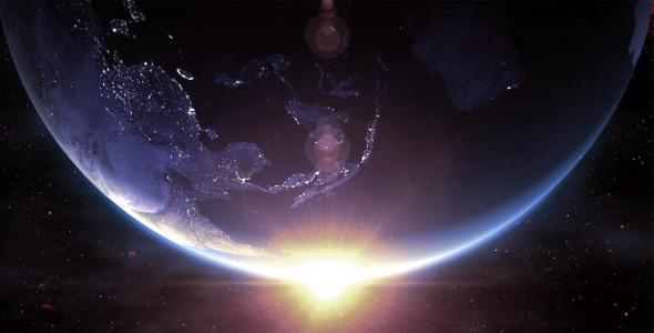Earth Sunrise 4