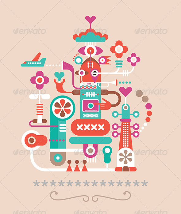 GraphicRiver Abstract Art 8532106