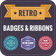 Retro Badges & Ribbons - GraphicRiver Item for Sale