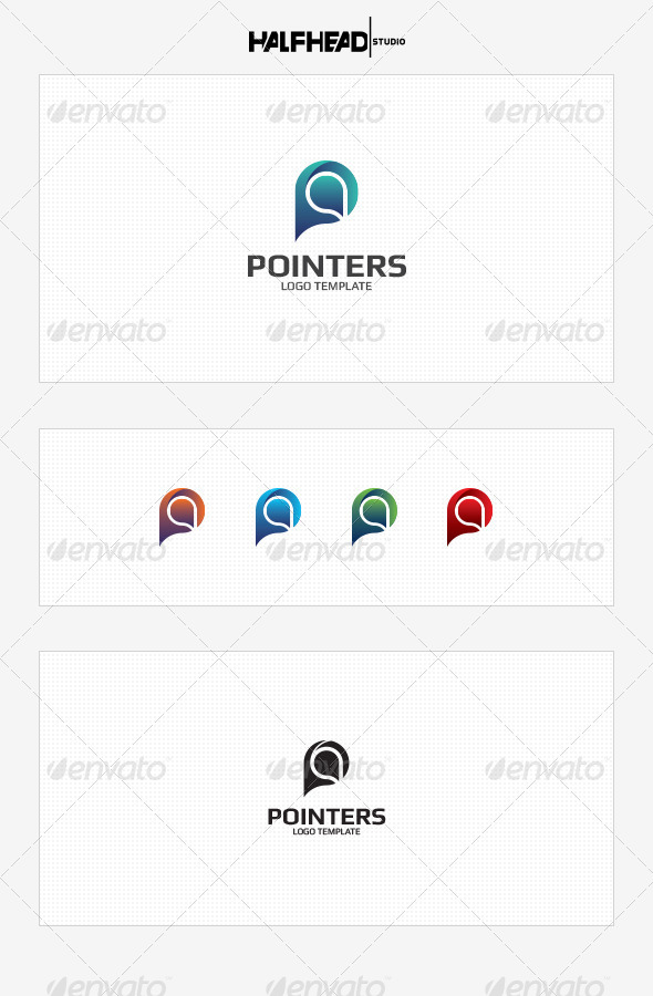 GraphicRiver Pointers Logo Template 8532449