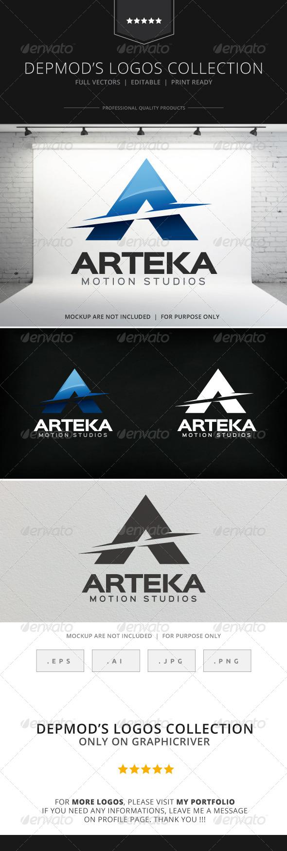 GraphicRiver Arteka Logo 8532524