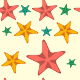 Seamless Pattern with Cartoon Starfishes - GraphicRiver Item for Sale