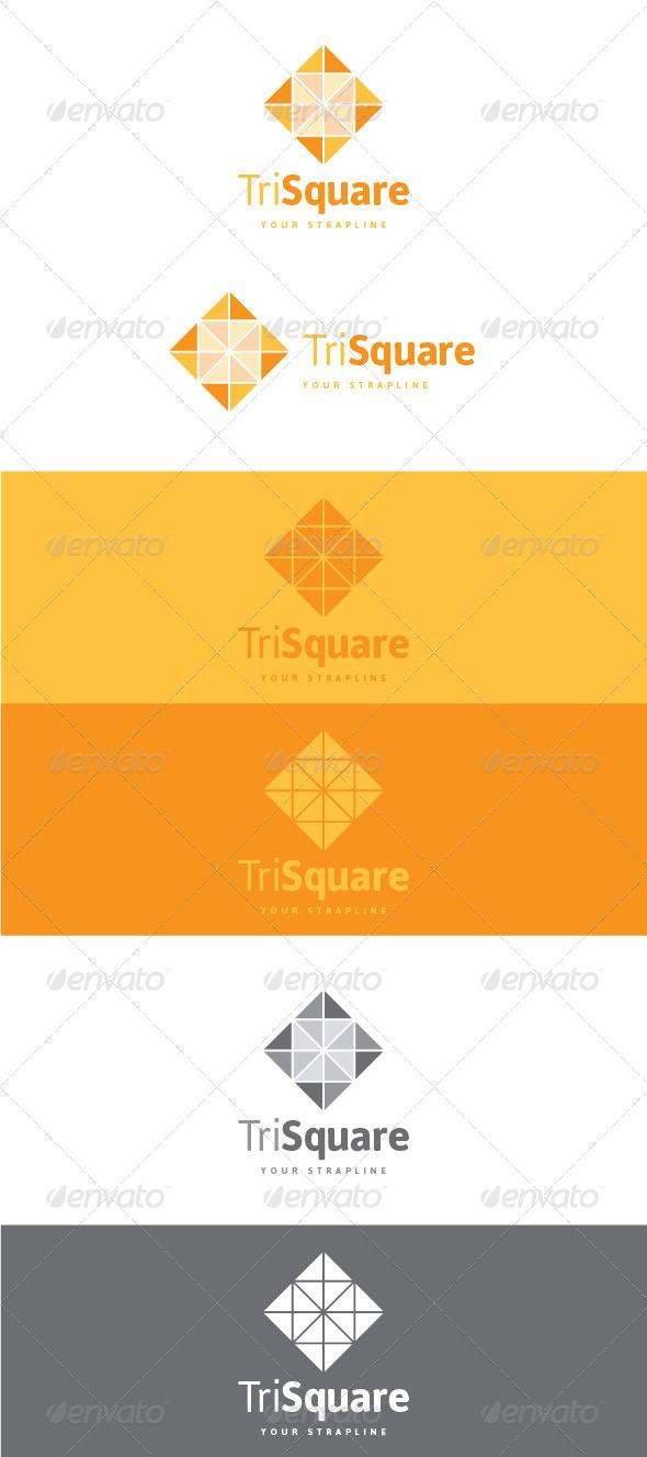 GraphicRiver Tri Square Logo 8533271
