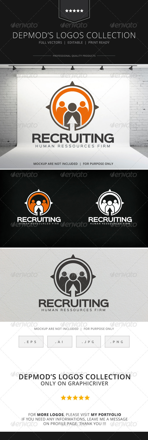 GraphicRiver Recruiting Logo 8533274
