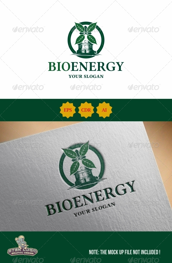 GraphicRiver BioEnergy Logo 8533284