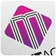 Magenta Agency Logo Template - GraphicRiver Item for Sale