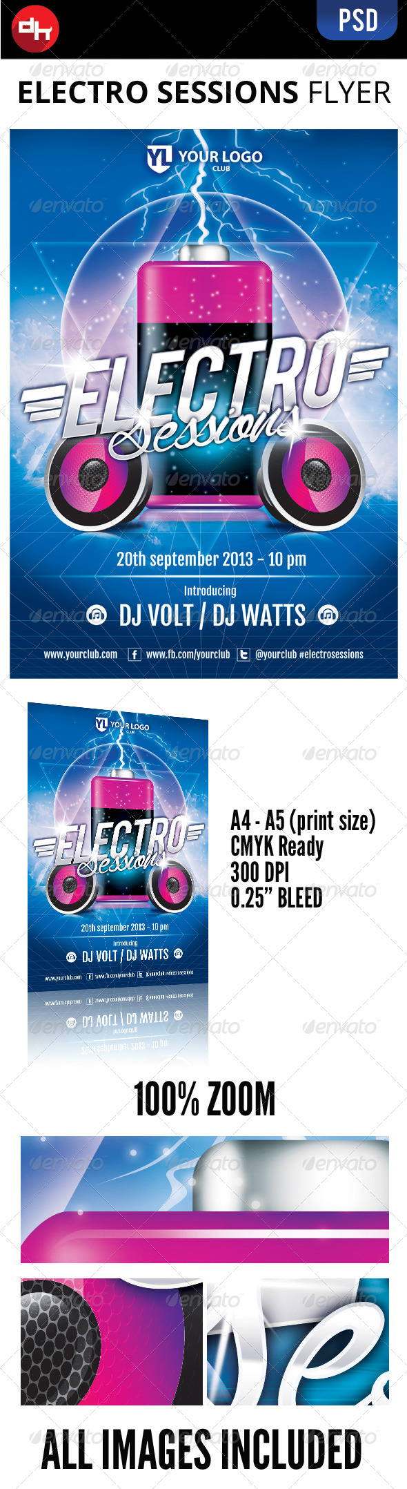 GraphicRiver Electro Sessions 8533595