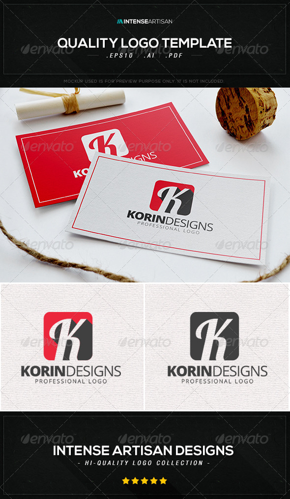 GraphicRiver Korin Designs Logo Template 8533702