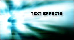 Text Effect Components
