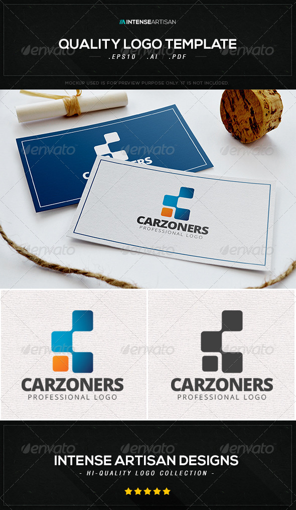 GraphicRiver Carzoners Logo Template 8533741