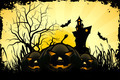 Grunge Halloween Party Background - PhotoDune Item for Sale