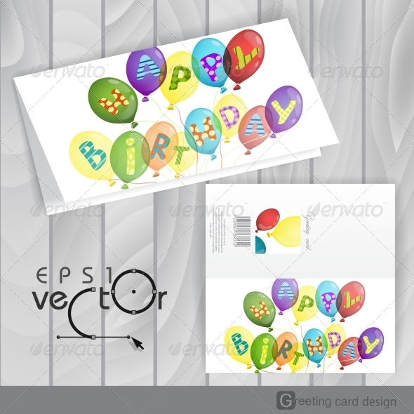 GraphicRiver Greeting Card Design Template 8534001