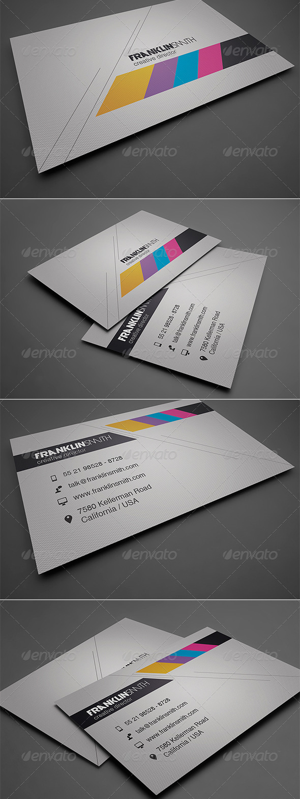 GraphicRiver Creative Business Card 8534575