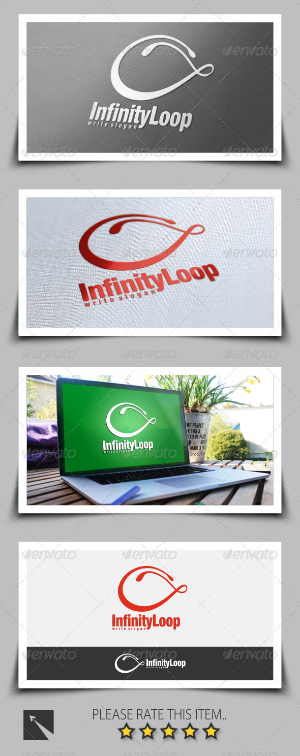 GraphicRiver Infinity Loop Logo Template 8534585