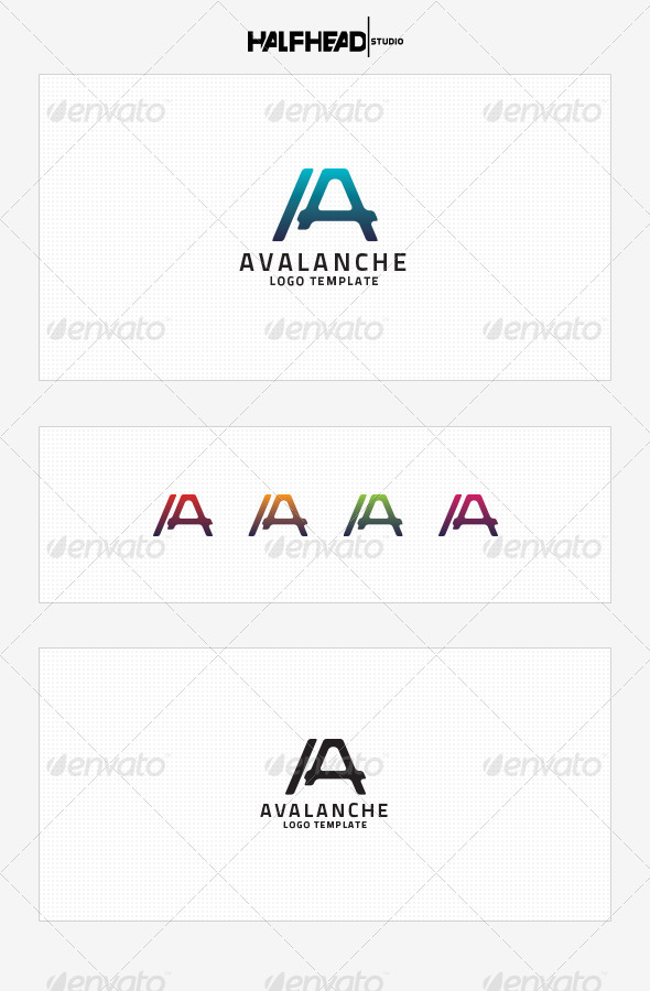 GraphicRiver Avalanche Logo Template 8534626