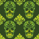 Classic Skull Ornamental Pattern - GraphicRiver Item for Sale