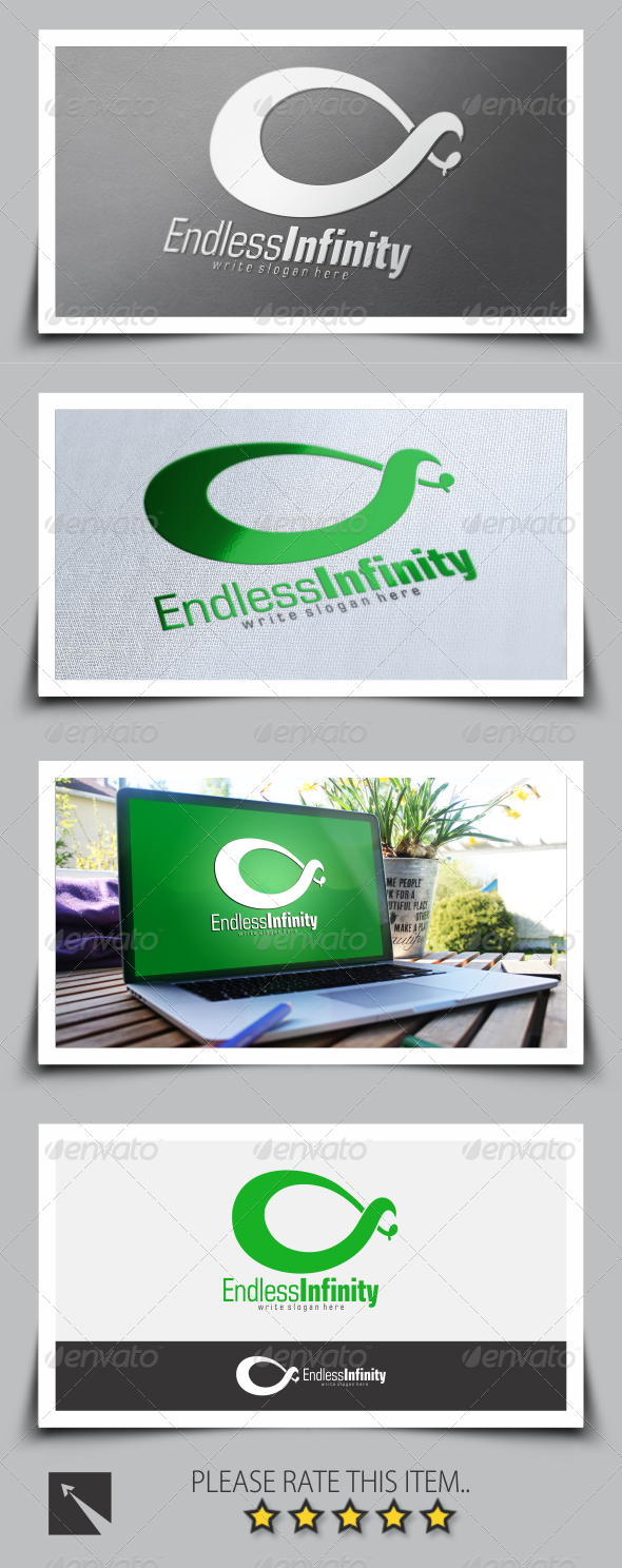 GraphicRiver Endless Infinity Logo Template 8535236