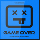 Game Over 404 Error Page - GraphicRiver Item for Sale