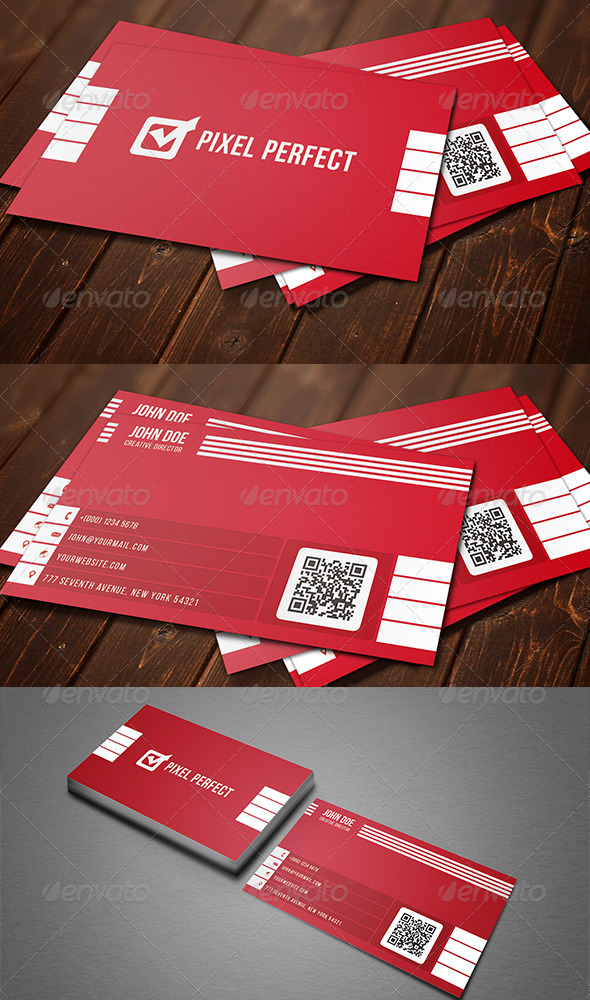GraphicRiver Corporate Minimal Business Card 8535246