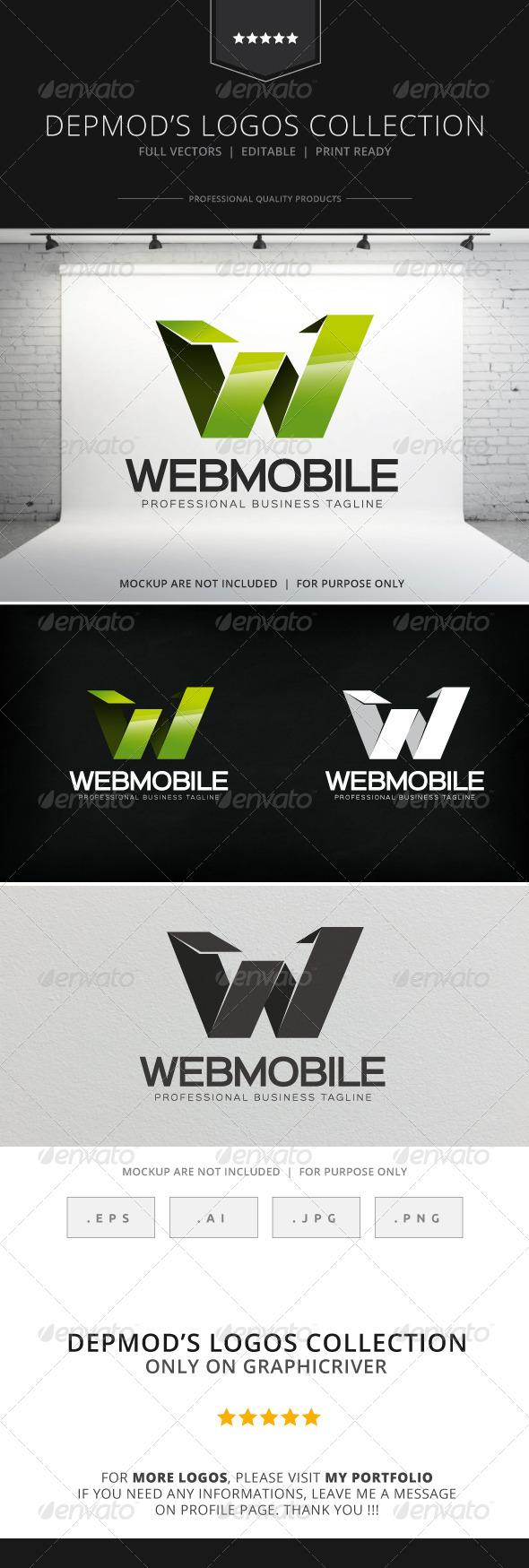 GraphicRiver Web Mobile Logo 8535388