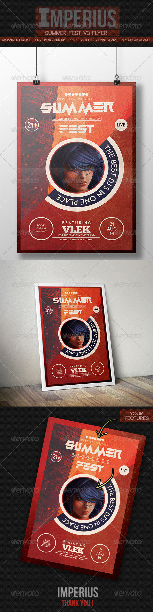 GraphicRiver Summer Fest V3 8535326