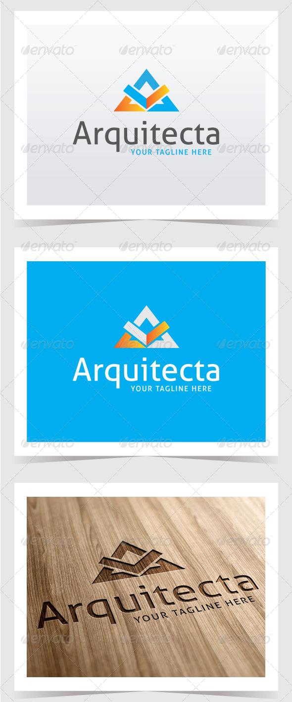GraphicRiver Arquitecta Logo Template 8535425