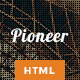 Pioneer - Single Page Html5 Template - ThemeForest Item for Sale