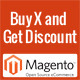 Buy X and Get Discount - Magento Extension
