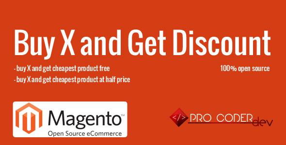 CodeCanyon Buy X and Get Discount Magento Extension 8498007