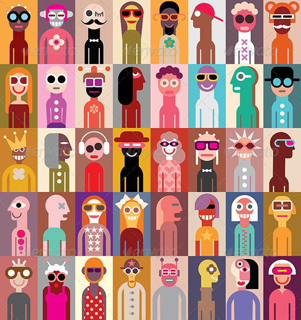 GraphicRiver People Vector Illustration 8535562