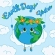 Earth Day 22 april Greeting card - GraphicRiver Item for Sale