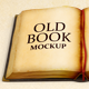 Old Book - High Resolution Illustration for Mockup - GraphicRiver Item for Sale
