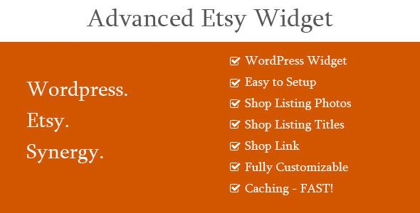 CodeCanyon Advanced Etsy Widget 8504468