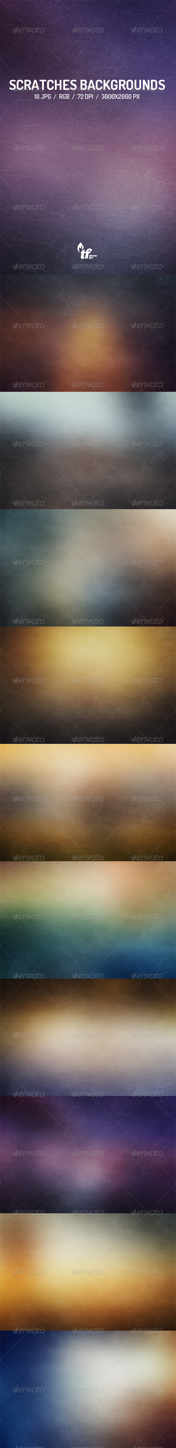 GraphicRiver Scratches Backgrounds 8536062