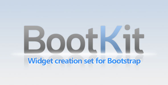 CodeCanyon BootKit Widget creation set for Bootstrap 8536173