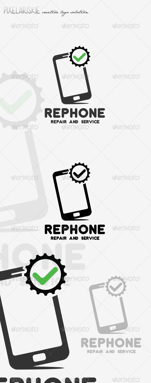 GraphicRiver Phone Repair Logo 8536418