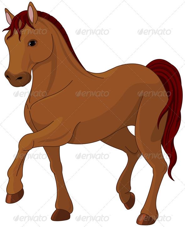 GraphicRiver Purebred Horse 8536543