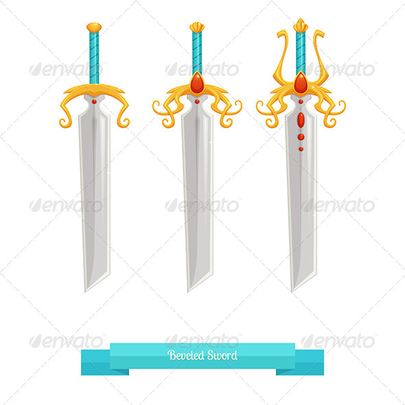 GraphicRiver Sharp Sword 8536647
