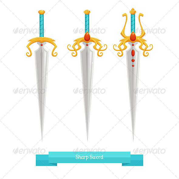 GraphicRiver Sharp Sword 8536653
