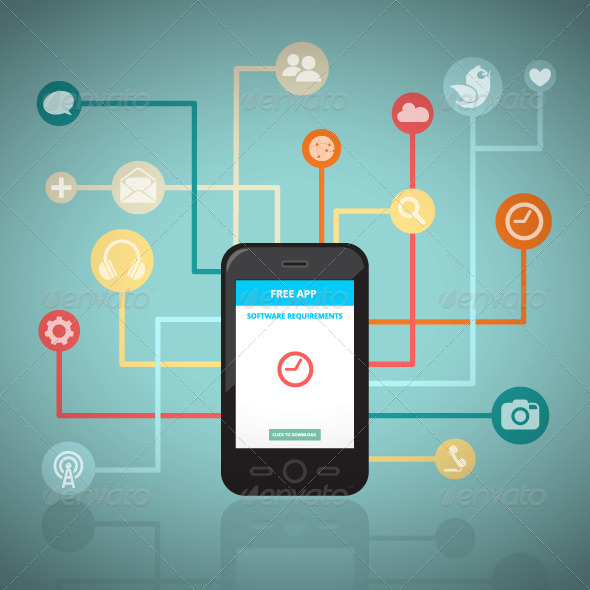 GraphicRiver Smart Network 8536659