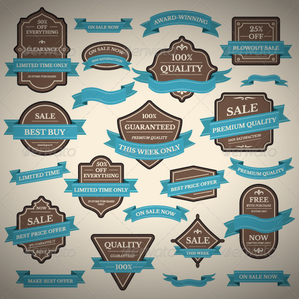 GraphicRiver Labels 8536717