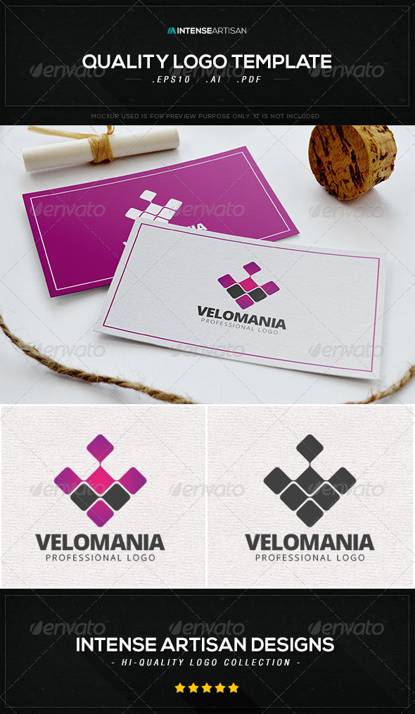 GraphicRiver Velomania Logo Template 8537044