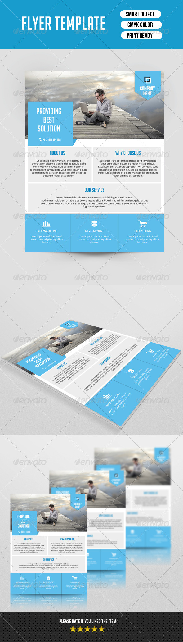 GraphicRiver Business Flyer Template-V106 8537175