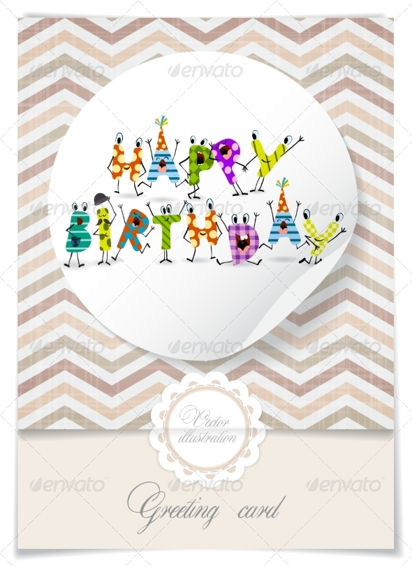 GraphicRiver Greeting Card Design Template 8537302