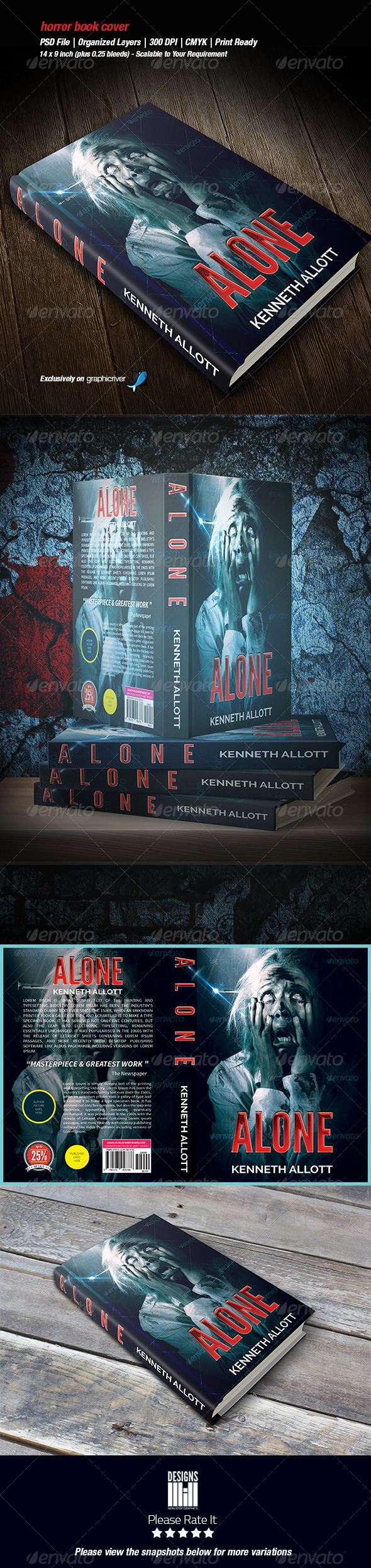 GraphicRiver Horror Book Cover 02 8537312