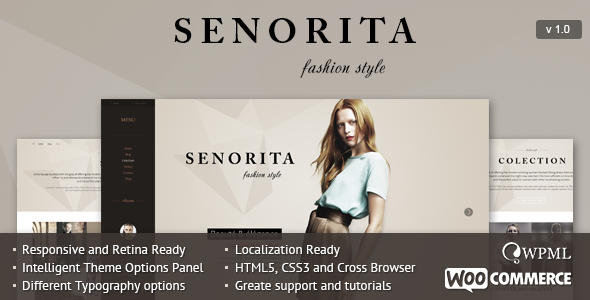 ThemeForest Senorita Responsive WordPress Theme 8406039