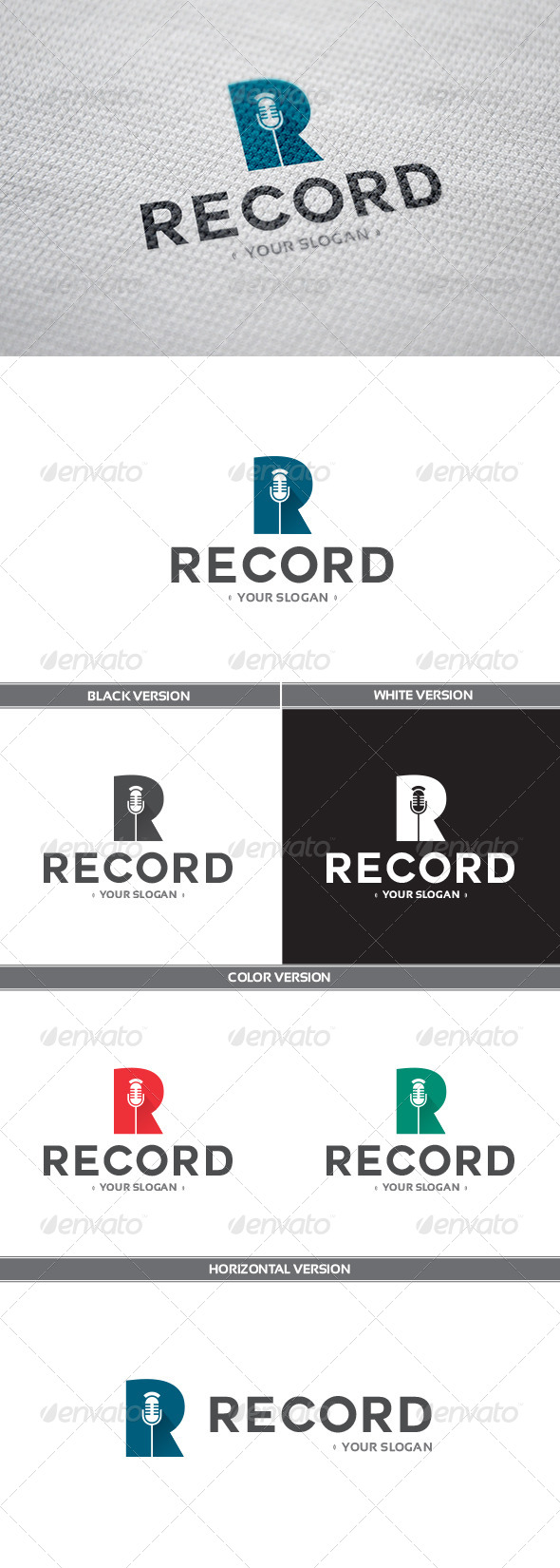 GraphicRiver Record Logo 8537397