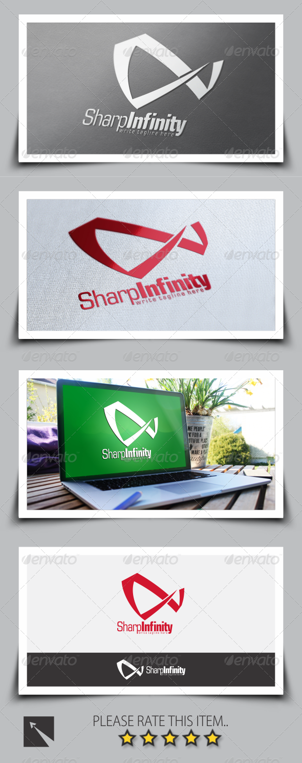 GraphicRiver Sharp Infinity Logo Template 8537453